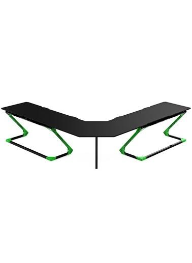 Xrocg Gaming Gator XXL-578 Yeşil-Siyah Oyuncu Masası Siyah